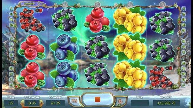 Онлайн казино Vulkan: характеристики видеослота Winter Berries