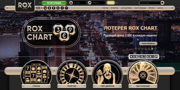 Официальный сайт Rox