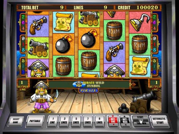 Характеристики видеослота Pirate с официального сайта казино Вулкан Платинум