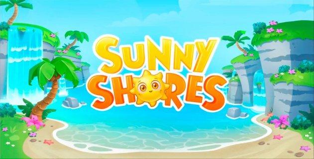 Элементы управления и бонусы игрового автомата Sunny Shores с сайта Sol Casino