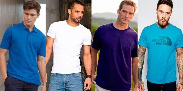 Популярные разновидности мужских футболок и их особенности