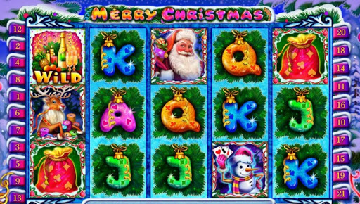 Характеристики и основные символы праздничного игрового автомата Merry Christmas