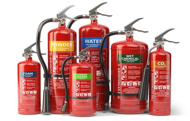 Основные разновидности современных огнетушителей и их особенности